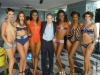 With Models in Swimsuits by Natalya Toporova