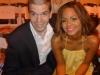 With Christina Milian