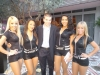 With the Miami Heat Dancers