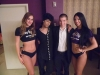 With Prince Impersonator Jason Tenner and the ladies of Purple Reign at Westgate Las Vegas