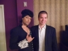 With Musician, Prince impersonator Jason Tenner at his show Purple Reign at Westgate Las Vegas