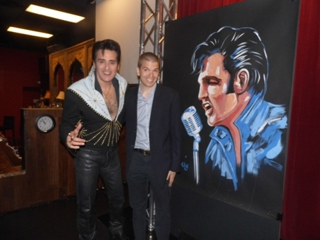 With Las Vegas's Most Accomplished Elvis Impersonator Steve Connolly