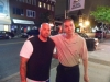 "With Brian ""Bulldog"" Bowen on the Streets of Bayonne, New Jersey"