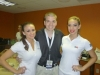 With The Miami Tennis Cup Ball Girls