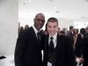 With Bernard Hopkins