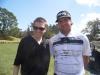 With PGA golfer Bubba Watson