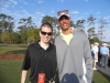 With NFL Player David Nelson