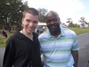 With NFL Great Emmitt Smith