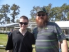 With Justin Martin of Duck Dynasty