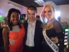 With Miss Florida Michelle Aguirre and Stephanie Jacques