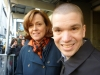 With Sigourney Weaver