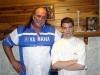 With Jake The Snake Roberts in 2007