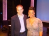 With Kimberley Locke After The Debut of Her Cabaret Show at the Aventura Arts & Cultural Center