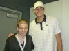 With Tennis Star John Isner