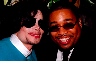 Cory Rooney with Michael Jackson