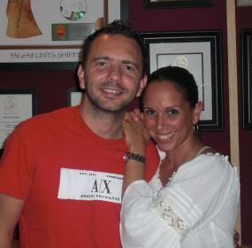 Latin Pop singer, Alexandra Taveras and music producer, Jose Luis Pagan