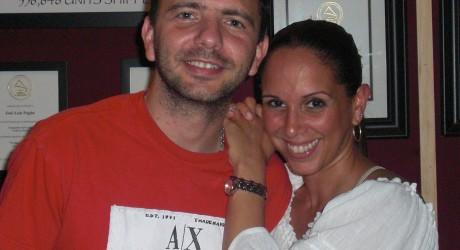 Latin Pop singer, Alexandra Taveras and music producer, Jose Luis Pagan