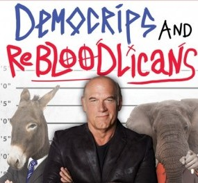 Jesse Ventura, DemoCRIPS and ReBLOODlicans, Jesse Ventura's New Book, Jesse Ventura Interview, Politics, Republican, Democrats,