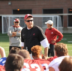 Mike Leach, Washington State Football, Football Coaches, Washington Football 2012, Washington State Football Practice, Washington State Football Mike Leach, College Football 2012, PAC 12, Washington State Practice