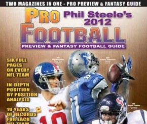 NFL Magazines, Phil Steele, NFL 2012, Sports Magazines, NFL Preview, NFL, NFL Preview Magazines