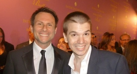 Christian Slater, Chris Yandek, Miami Make A Wish Ball, Actors, Celebrities, Red Carpet, Miami Make A Wish Gala