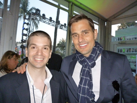 Chris Yandek, Bill Rancic, Bill Ranic Miami, Chris Yandek Bill Rancic, 24 Hour Cotton Fashion Show, South Beach 24 Hour Cotton Fashion Show, Cotton's 24 Hour Fashion Show, Ocean Drive Celebrities