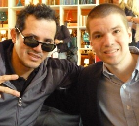 John Leguizamo, Chris Yandek, Miami International Film Festival, Celebrities in Miami, Miami Celebrities, Celebrities on Miami Beach, Miami Film Festival, Chris Yandek John Leguizamo, Miami International Film Festival Photos