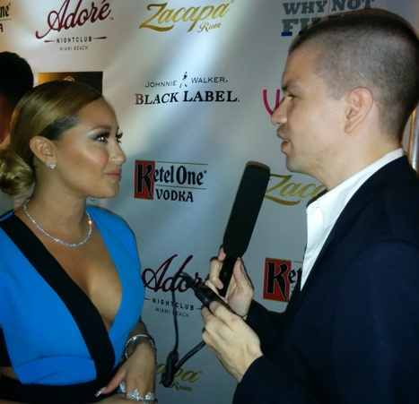 Adrienne Bailon, Adrienne Bailon 2014, Adrienne Bailon Venue Magazine Party, Chris Yandek Adrienne Bailon, CYInterview, South Beach 2014, South Beach Celebrities, Club Adore 2014, Adrienne Bailon Club Adore, Adrienne Bailon South Beach, Club Adore 2014, Adore Nightclub South Beach