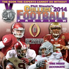 Phil Steele, Phil Steele 2014, X 2014 Alabama Football PreviewX 2014 Army Football PreviewX 2014 College Football SeasonX 2014 Florida Football PreviewX 2014 Florida State Football PreviewX 2014 Georgia Football PreviewX 2014 Marshall Football PreviewX 2014 NCAA Football National Title PredictionX 2014 Notre Dame Football PreviewX 2014 Ohio State Football PreviewX 2014 Oklahoma Football PreviewX 2014 Oregon Football PreviewX 2014 Pac 12 FootballX 2014 SEC Football PreviewX 2014 TCU Football PreviewX 2014 Texas Football PreviewX 2014 Washington State Football PreviewX BCS Predictions 2014X Chris YandekX Chris Yandek InterviewX Chris Yandek InterviewsX College Football 2014X College Football Coaches on The Hot Seat 2014X College Football Coaches Who Could Be Fired in 2014X College Football Information 2014X College Football National Title 2014X College Football News 2014X College Football Podcast 2014X College Football PreviewX College Football Preview 2014X College Football Preview MagazinesX College Football Season 2014X College Football Teams 2014 PredictionsX College Football Teams That Could Surprise in 2014X Football InterviewX FSU Predicted To Win 2014 College Football National TitleX FSU Predicted to Win 2014 National TitleX FSU vs Alabama is 2014 National Title GameX How will Notre Dame's 2014 Football Team Do?X interviewX NCAA Football 2014X NCAA Football Information 2014X NCAA Football News 2014X NewsX News 2014X news interviewsX News Interviews 2014X Non BCS Teams 2014X Phil Steele 2014X Phil Steele AudioX Phil Steele College Football Preview 2014X Phil Steele InformationX Phil Steele InterviewX Phil Steele Magazine 2014X Phil Steele MagazinesX Phil Steele News 2014X Phil Steele PodcastX Phil Steele ProfileX Phil Steele QuotesX Phil Steele Quotes 2014X Phil Steele's 2014 College Football PredictionsX Podcast InterviewX Predictions for 2014 BCS National Title GameX Preview of 2014 College Football SeasonX sport interviewX sports interviewsX Sports Magazines 2014X Sports PodcastX Sports WritersX Surprise College Football Teams in 2014X Who Can Win the 2014 National Title in College Football