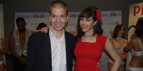 Chris Yandek, Chris Yandek Claire Sinclair, Entertainment News 2015, Stratosphere hotel and Casino Shows 2015, Las Vegas 2015, Las Vegas Entertainment Scene 2015, Las Vegas Entertainment Shows 2015, Las Vegas News 2015, Las Vegas Strip Shows 2015, News 2015, Pin Up Show Photos, Stratosphere Pin Up Show, Claire Sinclair Pin Up Show, Clair Sinclair, Claire Sinclair 2015, Pin Up Show Stratosphere Hotel, Pin Up Las Vegas Show Cast, Pin Up Stratosphere Show, Playboy Claire Sinclair, Claire Sinclair Interview, Pin Up Show at Stratosphere