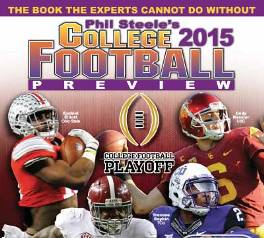 Phil Steele Magazine, Phil Steele 2015, Phil Steele College Football 2015