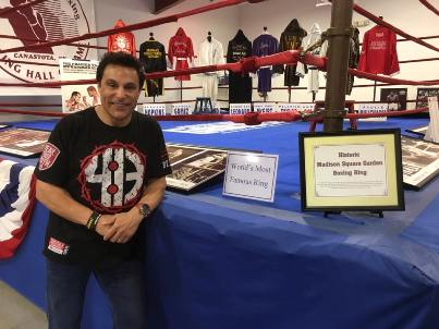 Marc Mero at the International Boxing Hall of Fame