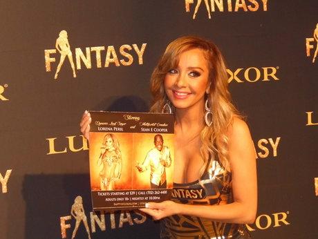 Lorena Peril, Fantasy Las Vegas, Lorena Peril 2019 calendar, Lorena Peril Las Vegas, Luxor Hotel and Casino 2018