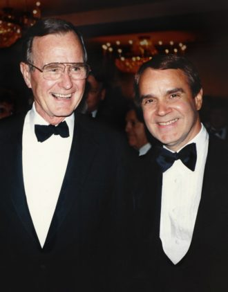 Rich Little George H.W. Bush, Rich Little President Bush